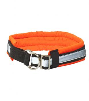 Zero Dog Halsband Soft orange